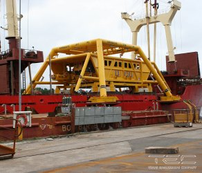 2011 Transportation of underwater production unit equipment on mv