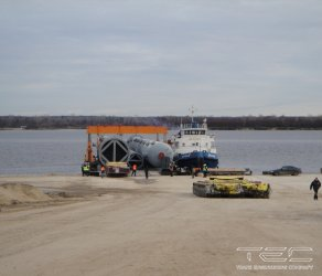 2013 Complex of works on delivery of equipment on and discharging from barges DRS-1,  DRS-3