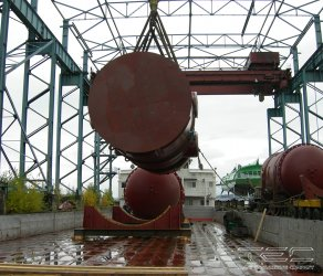 2013 Transportation of steam generators on a motor vessel of the