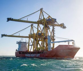 2016 - Project for transportation of STS type gantry cranes on board crane vessel